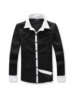 Casual Slim Dress Shirt