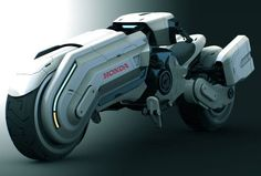 ...in the future, Honda will sponsor Akira, Tron, or Star Wars? =P