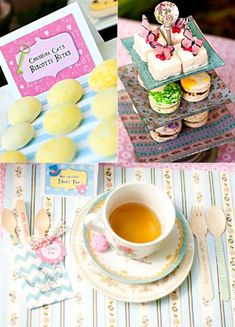 Alice in Wonderland inspired tea party ideas for a super fun spring birthday celebrations! Lots of DIY decorations, party printables, fun finger food and favors!   #aliceinwionderland #aliceparty #aliceinwonderalndbirthday #teapartyideas #gardenparty