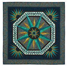 Delhi Quilt, designed by Jinny Beyer- paper pieced construction