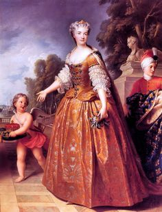 Maria Lescynska, Queen of France by François Stiémart