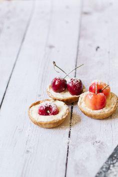 cherry tart recipe   sugarandcloth.com
