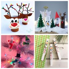 Bonitas manualidades de Navidad fáciles de hacer para niños Halloween, Advent Calendar, Crafts For Kids, Christmas Ornaments, Holiday Decor, Ideas, Blog, Home Decor, World