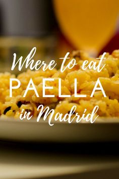 It makes sense that you'd want to try paella while in Madrid. After all, it's Spain's national dish! But paella isn't typical of Madrid and if you sit down at the first place that advertises paella in Madrid, you're going to be disappointed. Don't worry though, because amazing paella definitely exists in Madrid, and these are the places where you can find it.