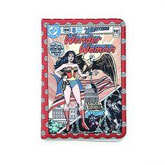 Wonder woman passport case by lucky planet