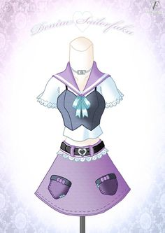 ~ Pure Lavender ~ My first piece of my fashion months project, a haute couture dress for every month! October • Purity • Amethyst • Lavender ----- Thank. Anime Outfits, Cool Outfits, Mery Chrismas, Character Inspiration, Character Design, Anime Dress, Drawing Clothes, Fashion Art, Fashion Design