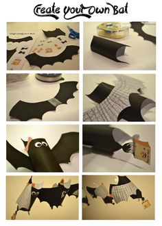 1000 images about first grade goes batty on pinterest for Make your own halloween decorations