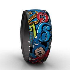 Walt Disney World Parks Sorcerer Mickey Mouse MagicBand -...