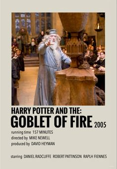 Harry Potter Movie Posters, Iconic Movie Posters, Harry Potter Characters, Iconic Movies, Film Posters, Harry Potter Goblet, Harry Potter Decor, Harry Potter Information, Movie Collage