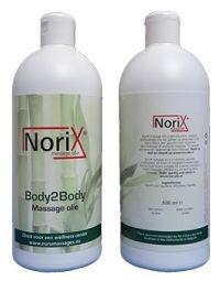 500 ML NoriX professional massage olie Massage, Shampoo, Personal Care, Massage Therapy