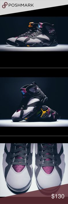 GS Air Jordan Retro 7 Bordeaux July 18 2015 release   Originally released back in 2011, this popular Air Jordan 7 is finally set for a comeback four years later. The remastered edition of the Bordeaux 7 will look a lot similar to the original release from 1991.  100% authentic Worn indoors (twice), with original box  Also fits Women's 7 sz Haven't cleaned Any questions just ask Jordan Shoes Sneakers