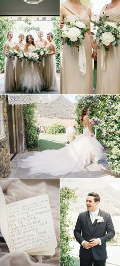 Romantic Malibu Vineyard Wedding