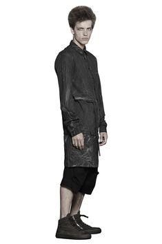Shop Sustainable Luxury Avant-garde Fashion Designer Barbara I Gongini Men's SS18 Multiway Shirt at Erebus
