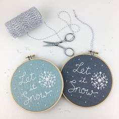 Snowflake embroidery - I Heart Stitch Art (@i.heart.stitch.art) on Instagram