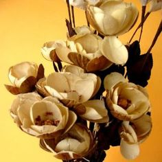 How To Make Wood Flowers - Uses And Benefits Of Wood Flowers For Home Decor | Good Evening World