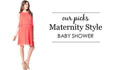 Maternity Baby Shower Dresses - here are our faves for the mama-to-be!
