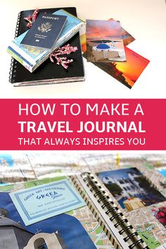 Near couple scrapbooking travel journals, travel journal scrapbook, vacation scrapbook Travel Journal Scrapbook, Vacation Scrapbook, Travel Journals, Art Journals, Voyage Rome, Travel Packing, Travel Hacks, Travel Ideas, Travel Advice