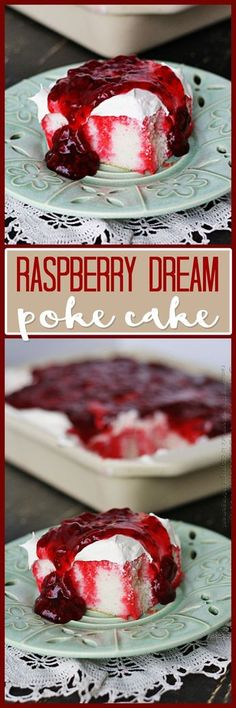 This Raspberry Dream Poke Cake is so easy to make, and so refreshing. It was so popular that people were looking for not only seconds but thirds!