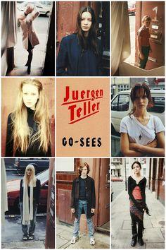afreshfocus: Inspiración 90′s con Juergen Teller y su libro Go Sees en Fresh Focus.