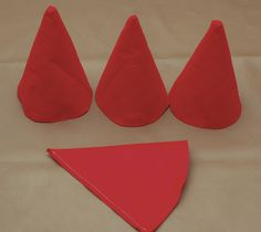 How to make a felt gnome hat. Also pics of the gnome themedMod Monkey Birthday Door Sign Girl or Boy Monkey Birthday Decorations Party Decor BirthdayGnome hats for Gnomes vs Agents gameGnome party hat and take home gift. Gnome Costume, Dwarf Costume, Gnome Hat, Halloween Costumes For Work, Halloween Fun, Mod Monkey Birthday, Dwarf Hat, Hat Tutorial, Fairy Birthday