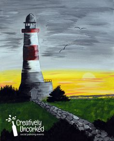 Lighthouse Harmony | Creatively Uncorked | http://creativelyuncorked.com/