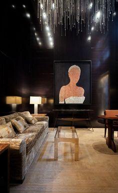 Peter Marino black walls