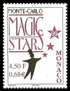 MONACO 1999 MAGIC STARS THEATRE PERFORMANCE SET MNH