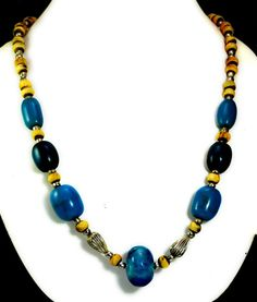 A Stylish Boho Hippie Multi Color Fashion Jewelry Necklace For Ladies #Handmade #StrandString