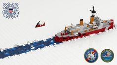 """""""No Sea Too Rough, No Ice Too Tough"""": A LEGO® creation by Matt Bace : MOCpages.com"""