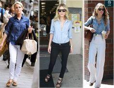 Camisa jeans feminina: dicas de moda