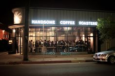 HandsomeRoasters.  corner of 5th and Mateo in the Arts District of downtown Los Angeles
