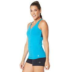 Zumba Bootcamp Tank Top - Sea Of Blue Z1T00822
