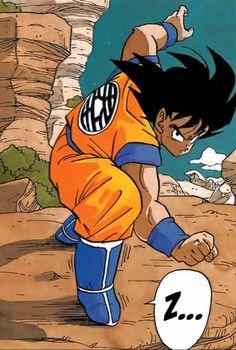 Goku (Dragon Ball Z) by Akira Toriyama #DBZ