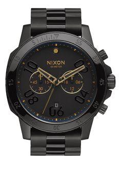 Nixon Ranger Chrono - Black/Gold