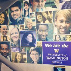 So apparently I'm the #universityofwashington #bothell #uwb #huskies #ilovemydawgs #uw PHOTO CREDSL @Amit Moolani