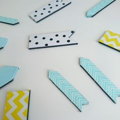 Do it yourself masking tape magnete DIY pearodie Masking Tape, Washi Tape, Diy Magnets, Baby Crafts, Triangle, Diy Projects, Lisa, Blog, Natural
