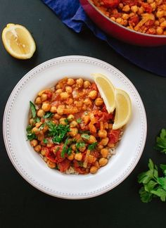Vegan Chana Masala   28 Vegetarian Recipes That Are Even Easier Than Getting Takeout