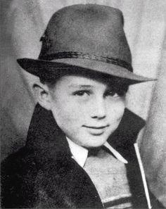 James Dean as a child | Retronaut