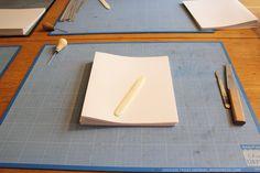 book binding fold paper