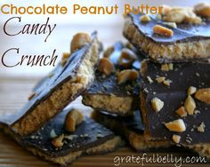 Chocolate and peanut butter...can't go wrong!