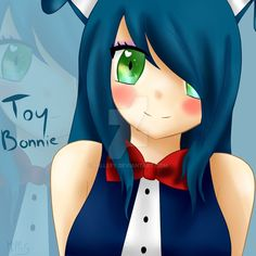 Toy Bonnie as you can tell. Toy Bonnie, Female Songs, Fandom, Anime Fnaf, Cosplay, Five Nights At Freddy's, Scary, Disney Characters, Fictional Characters
