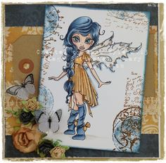 The Cupboard Under the Stairs: Saturated Canary...New Fairies!
