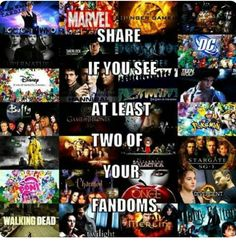 Once Upon A Time, DC, Marvel, and Disney