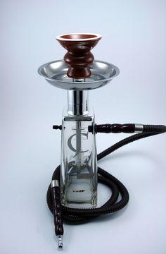 750ML jc vsop Cognac Glass Bottle Shisha Hookah With Matching black Hose, Tray, and Bowl. $49,99, via Etsy.