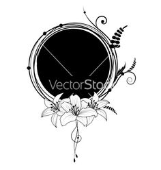 Floral banner vector 626491 - by tanais on VectorStock®