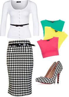 """Burst of colour."" by kristina-norrad ❤ liked on Polyvore"