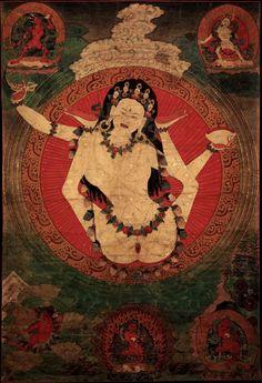 Vajrayogini  Tibet. Shangpa Kagyu Lineage.