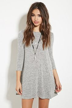 Marled Sweater Dress   Forever 21 - 2000167677