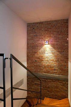 Stair Railing Design, Home Stairs Design, Duplex House Design, Home Room Design, Small House Design, Interior Design Living Room, Wall Showcase Design, Home Gym Decor, House Stairs
