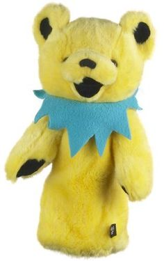 Winning Edge Designs Grateful Dead Dancing Bear Head Cover, Yellow by Winning Edge. Save 20 Off!. $23.95. Grateful Dead